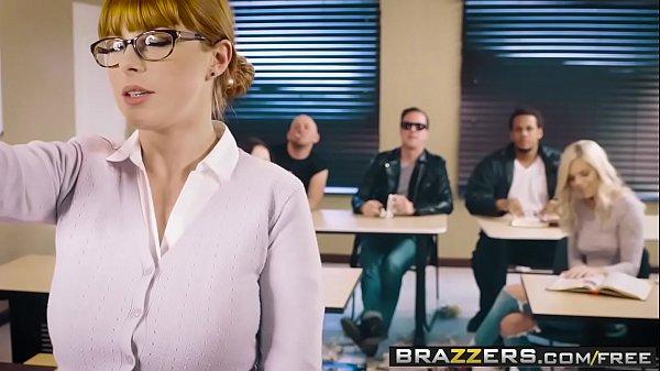 Brazzers – Big Tits at School –  The Substitute Slut scene starring Penny Pax and Jessy Jones