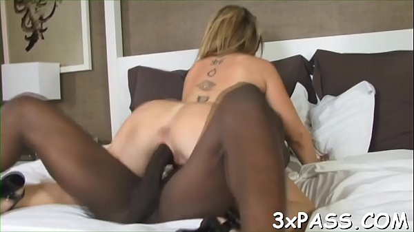 This brat white bitch likes performing rodeo on black cocks