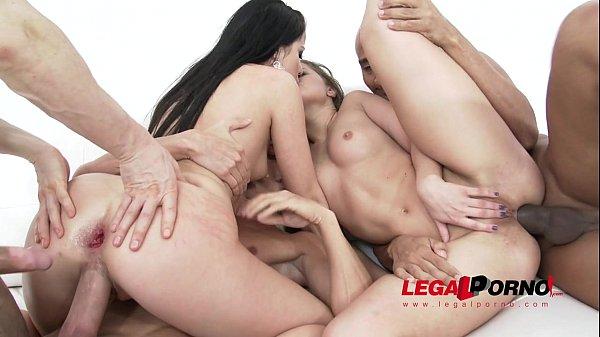 Hot russian sluts Silvia Burton & Taissia Shanti anal & DP for Legal Porn SZ1206