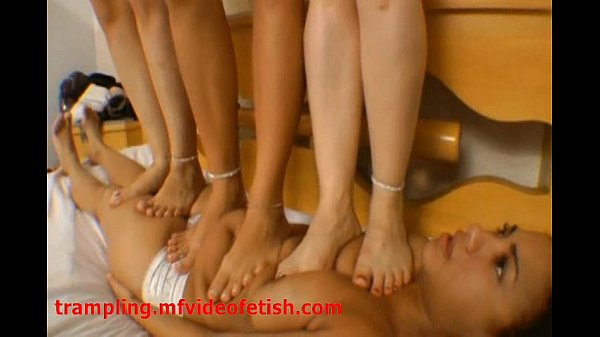 Trampling and Dancing Samba over they Slave Face